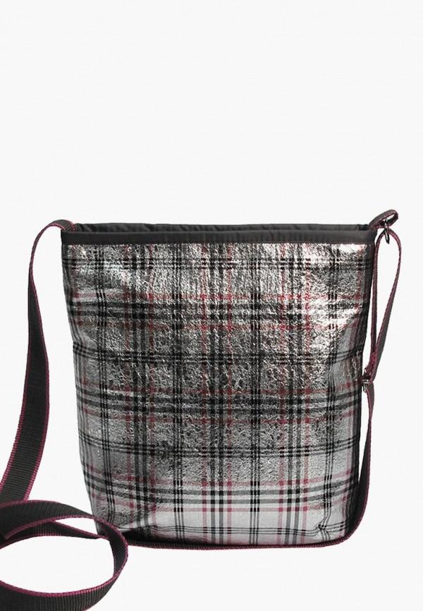 женская сумка episode, серебряная