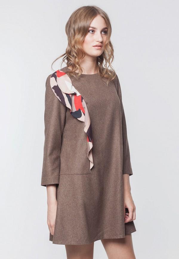 Купить Платье EMI, mp002xw0djjs, коричневый, Весна-лето 2019