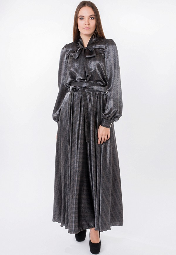 Купить Платье Katerina Bleska & Tamara Savin, mp002xw0djlu, коричневый, Осень-зима 2017/2018
