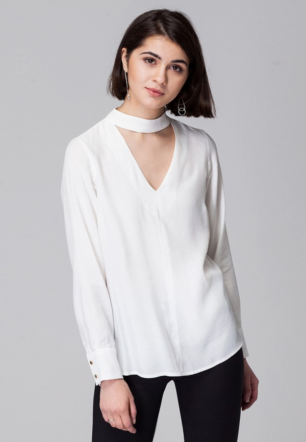Купить Блуза Vilatte, mp002xw0dn36, белый, Осень-зима 2017/2018