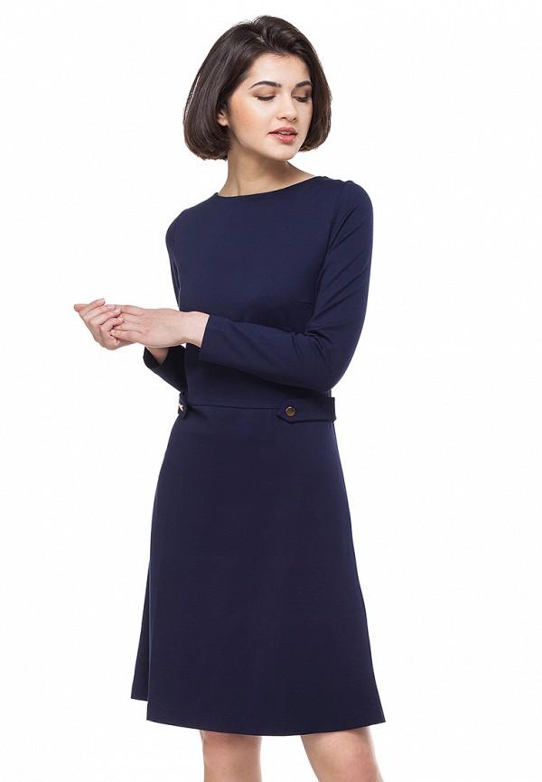 Купить Платье Vilatte, mp002xw0dn47, синий, Осень-зима 2018/2019