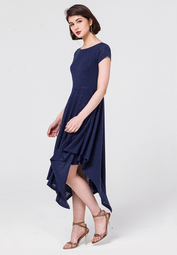 Купить Платье Vilatte, mp002xw0dn4e, синий, Осень-зима 2018/2019