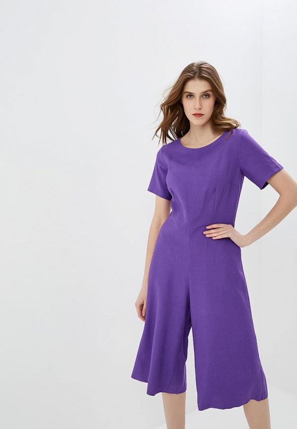 женский комбинезон с брюками baon, фиолетовый