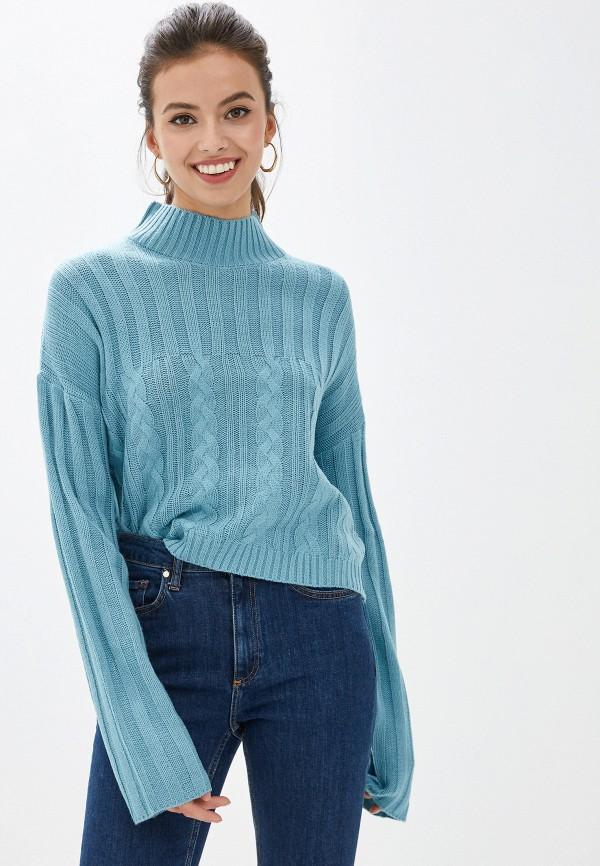 женский свитер befree, голубой