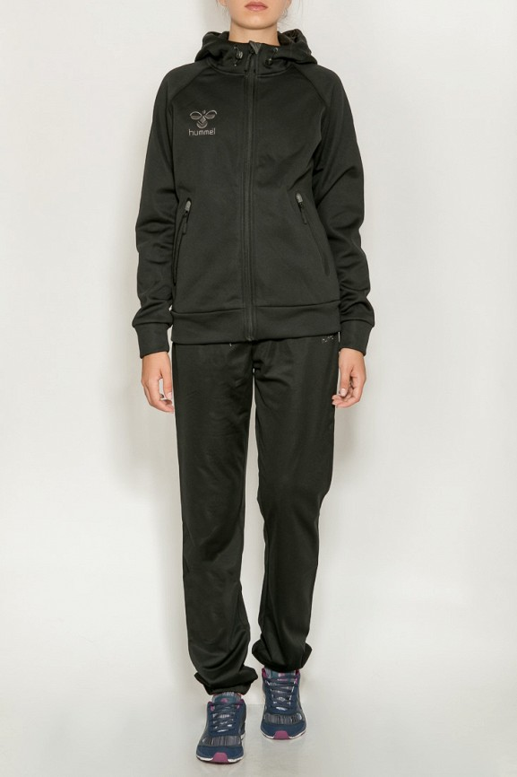 женская олимпийка hummel, черная