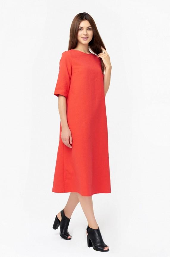 женское вечерние платье nai lu-na by anastasia ivanova, красное