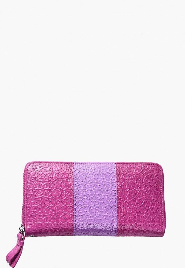 женский кошелёк адили, розовый