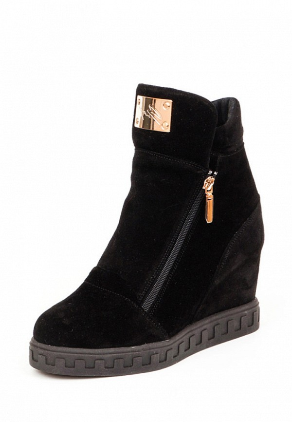 женские ботинки tops, черные