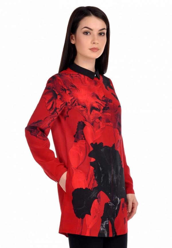 женское повседневные платье city jungle, красное