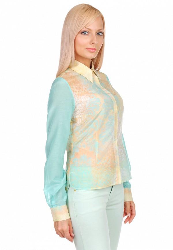 женская рубашка с длинным рукавом city jungle, разноцветная