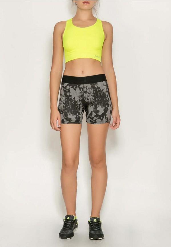Фото 6 - женские шорты Hummel серого цвета