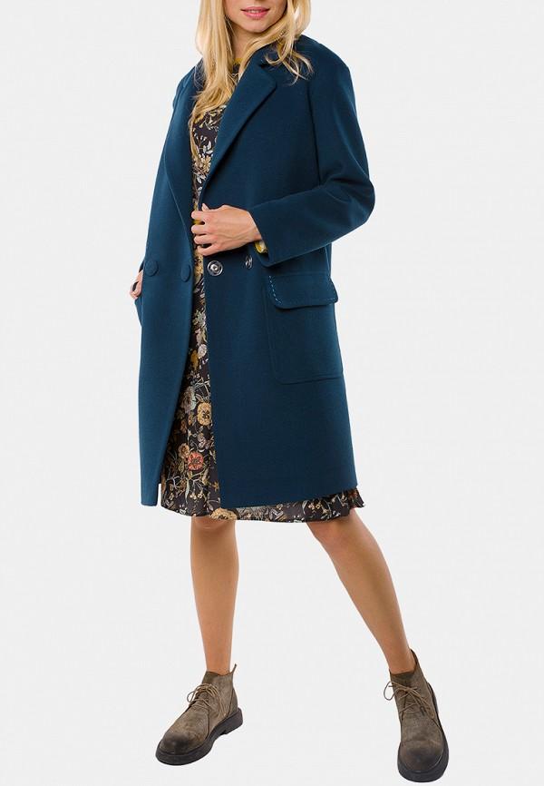 женское пальто mr520, синее