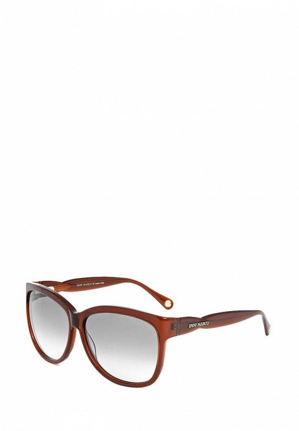 мужские солнцезащитные очки enni marco, коричневые