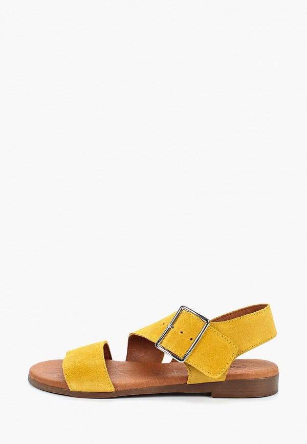 женские сандалии dino ricci, желтые