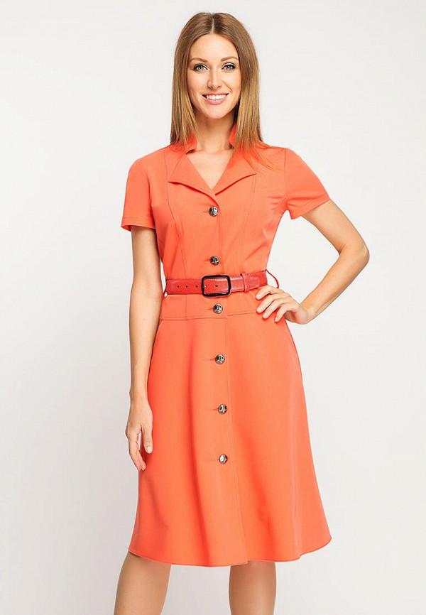 Фото - Женское платье Giulia Rossi оранжевого цвета
