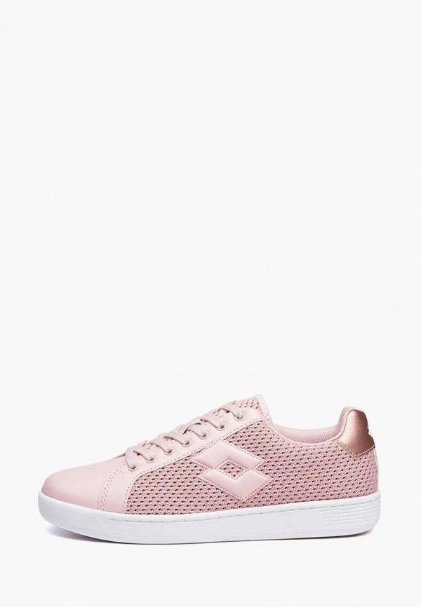 женские кроссовки lotto, розовые