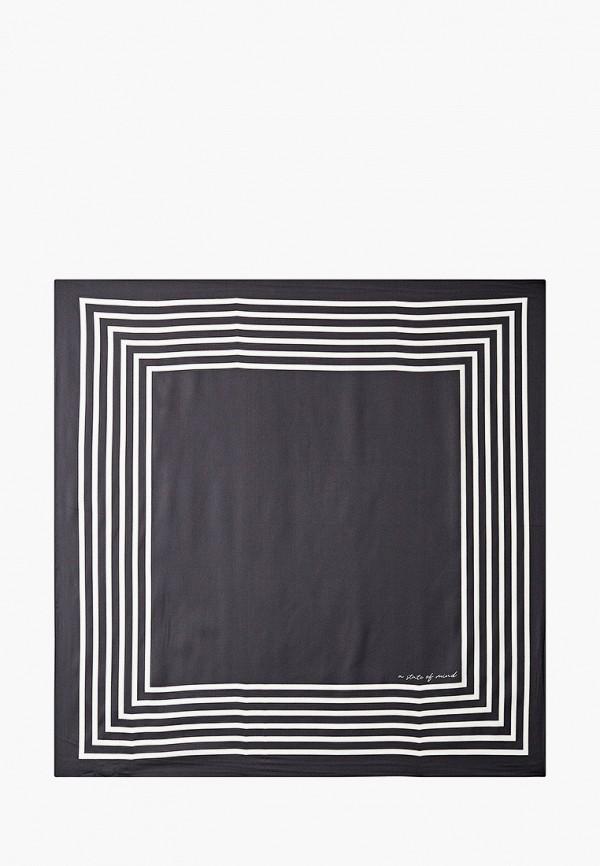 женский платок zarina, черный