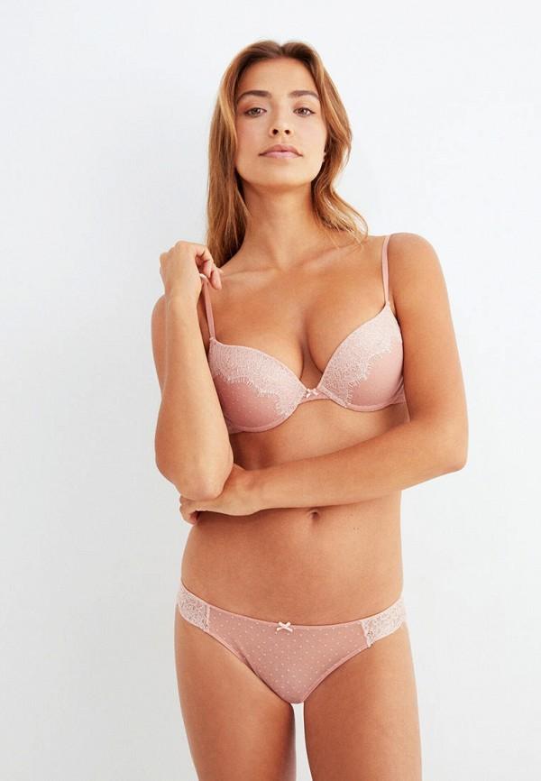 женские трусы-слипы women'secret, розовые