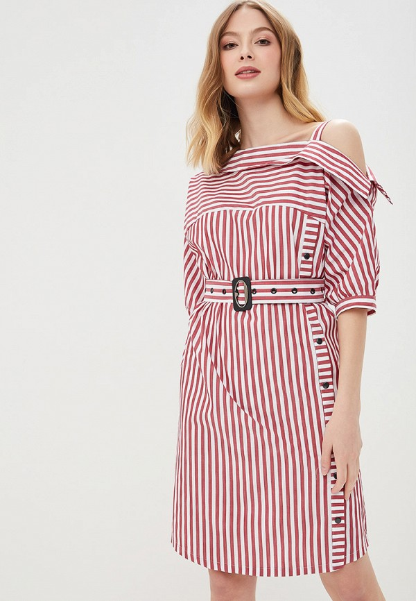 женское платье tantino, бордовое