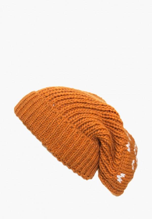 мужская шапка anna bask, оранжевая