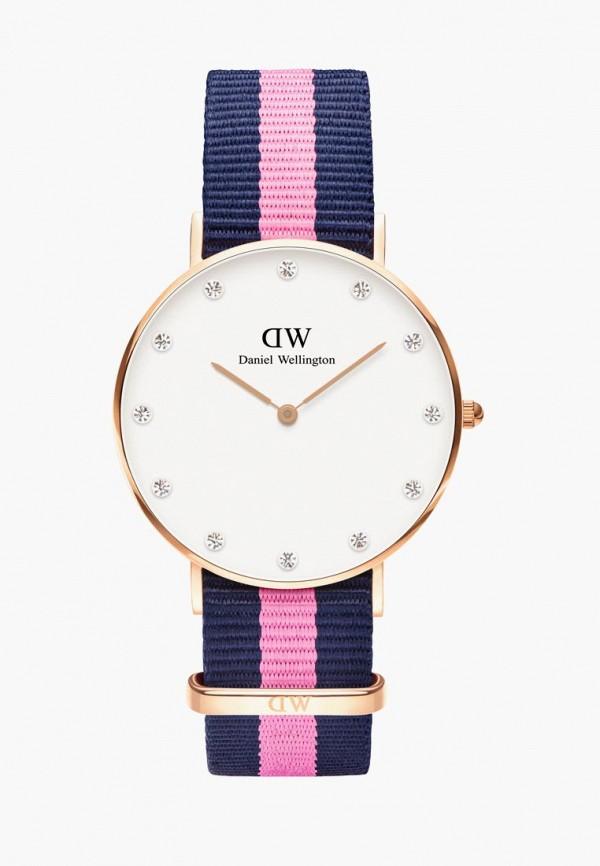женские часы daniel wellington, синие