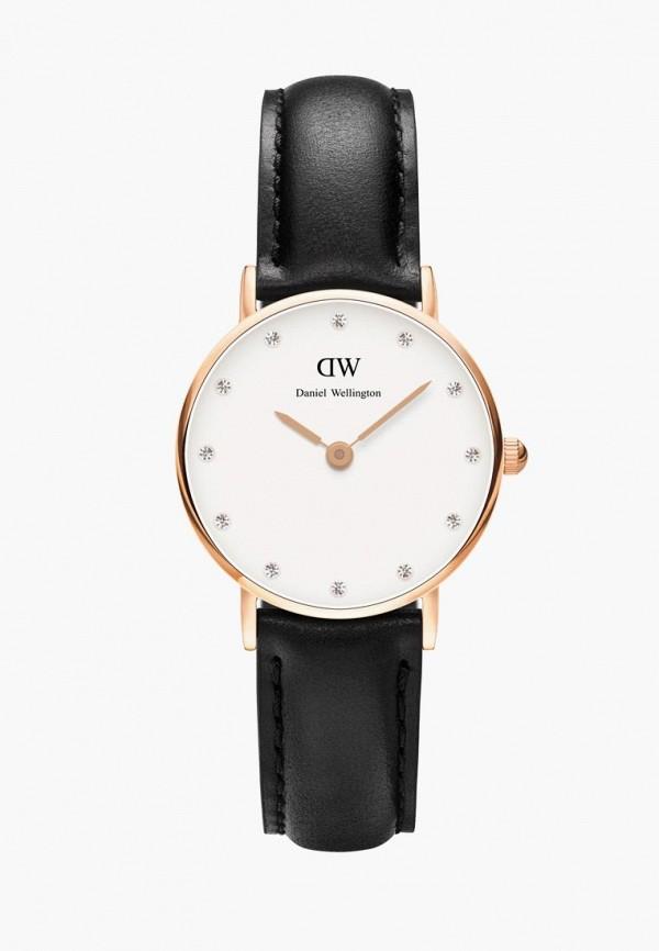 женские часы daniel wellington, черные
