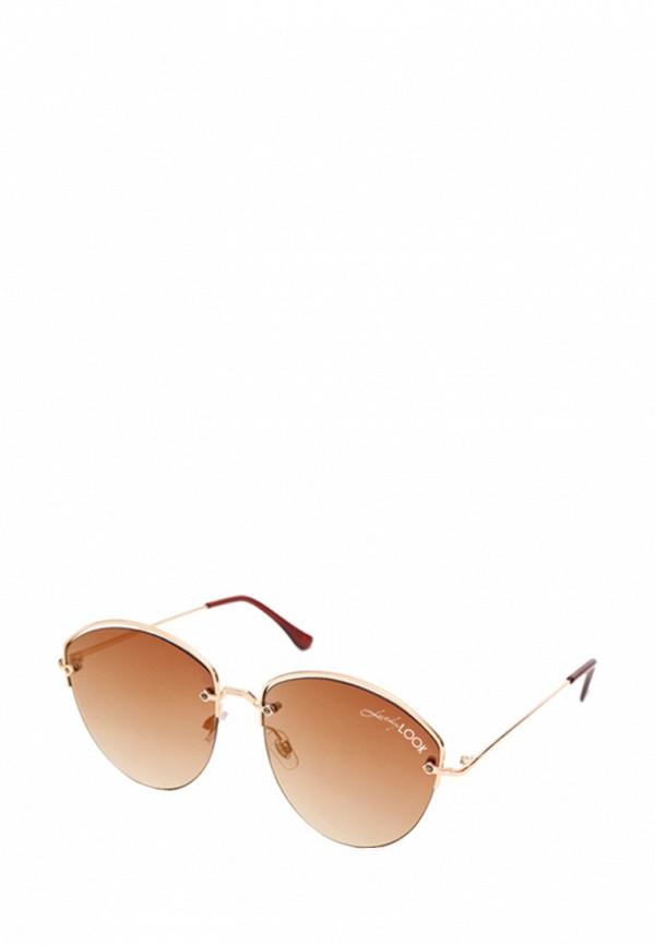 женские солнцезащитные очки luckylook, золотые