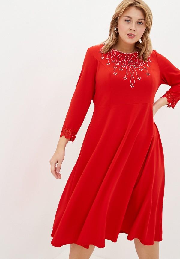 женское платье blagof, красное