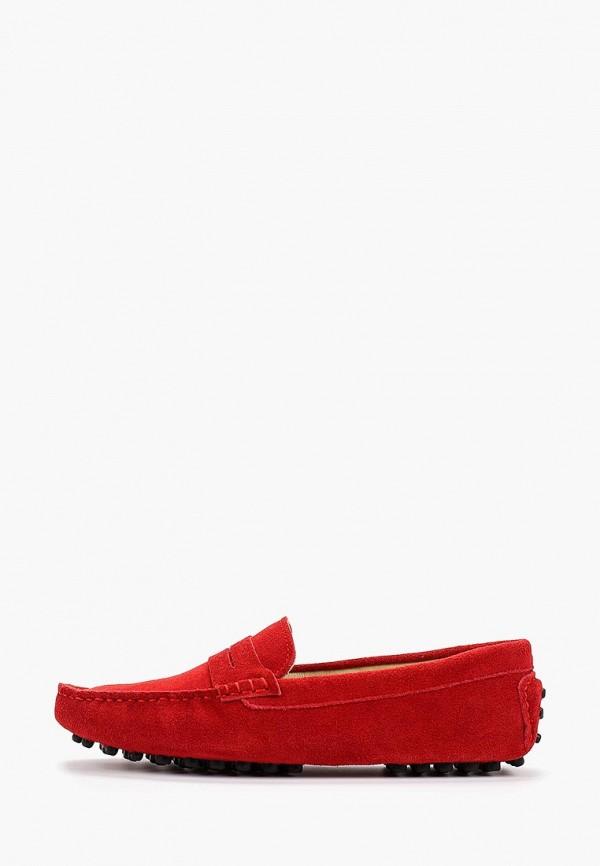 Фото - Женские мокасины Marco Bonne` красного цвета