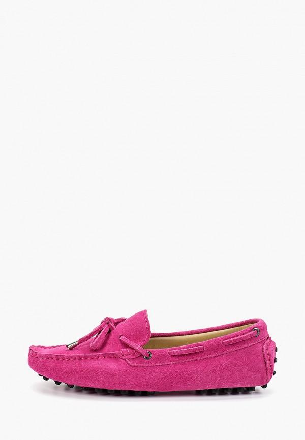 женские мокасины marco bonne', розовые