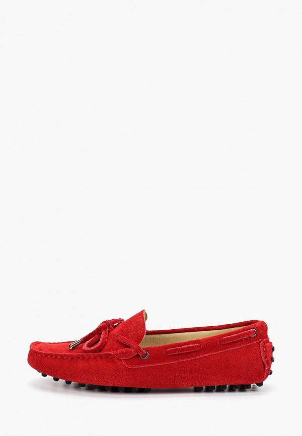 женские мокасины marco bonne', красные