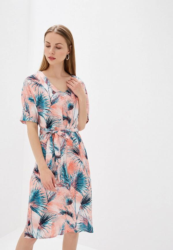 Платье Perspective цвет розовый