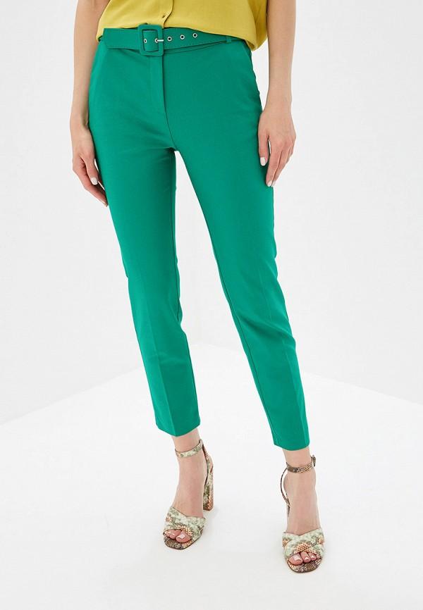 женские повседневные брюки perspective, бирюзовые