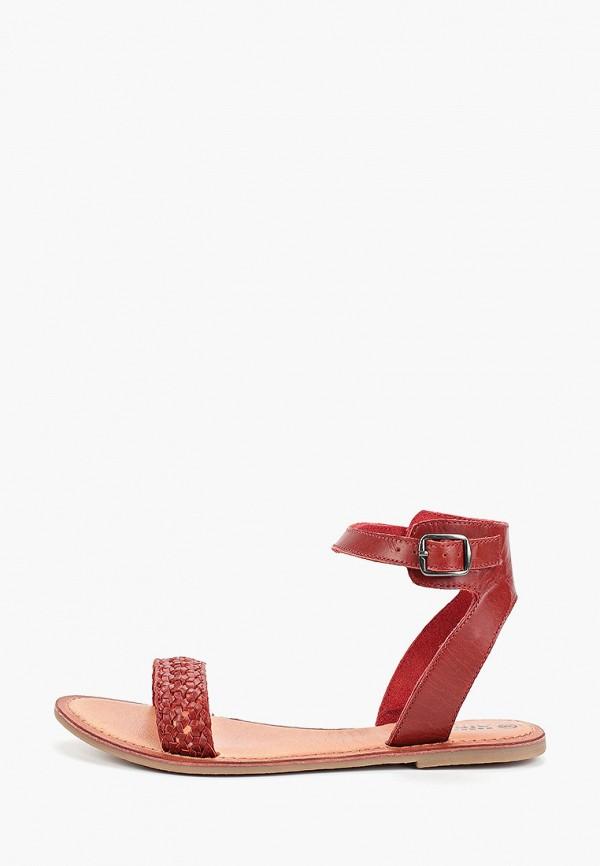 женские сандалии airbox, красные