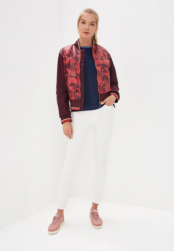 Куртка утепленная Forward цвет бордовый  Фото 2