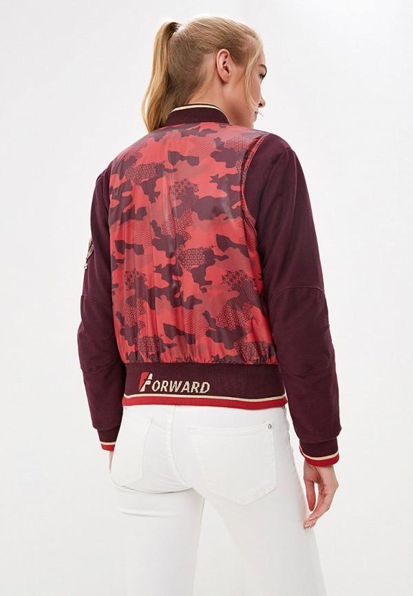 Куртка утепленная Forward цвет бордовый  Фото 3
