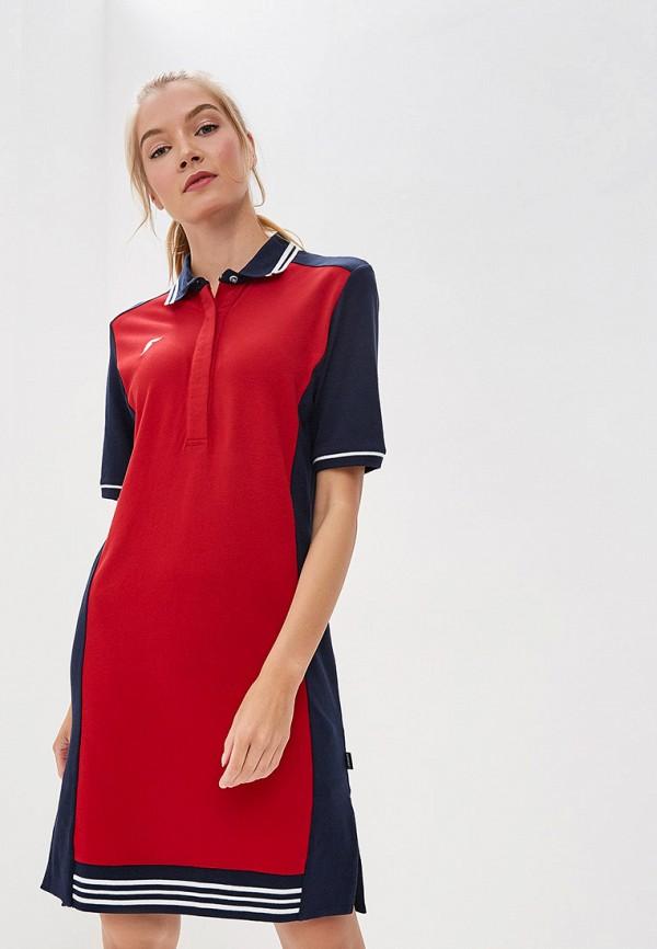 женское платье forward, красное