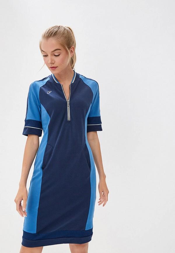 женское платье forward, синее