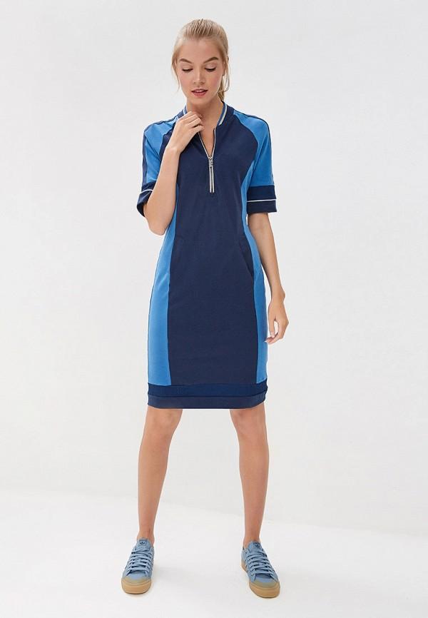 Платье Forward цвет синий  Фото 2