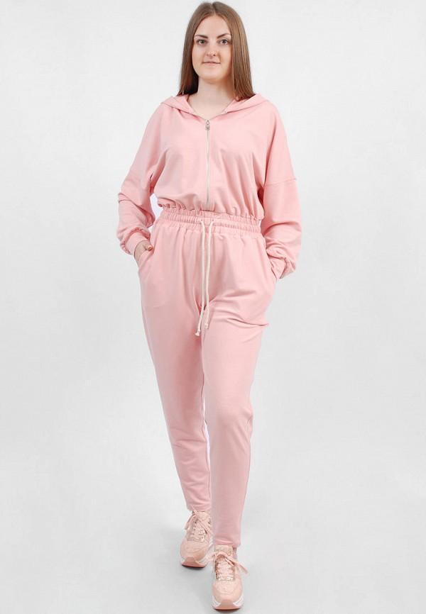 женский спортивные комбинезон sab, розовый