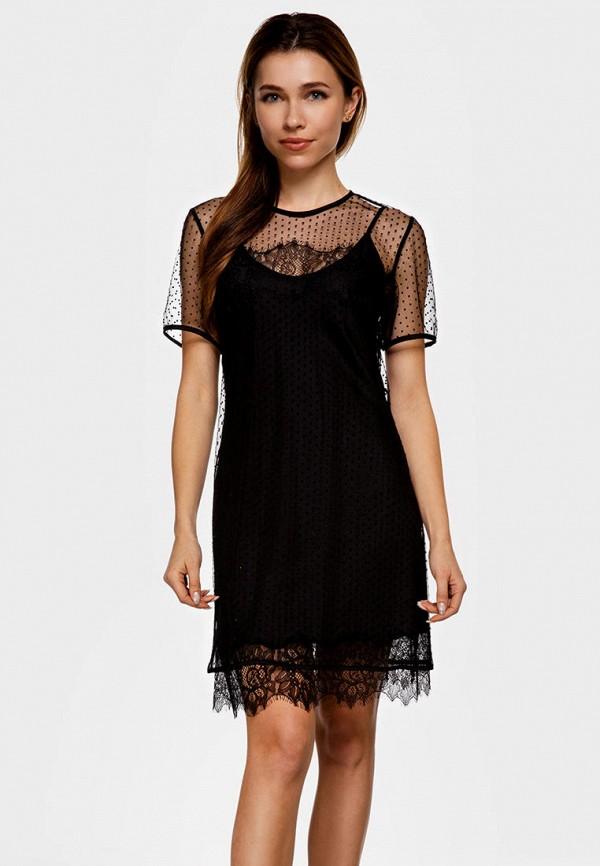 женское вечерние платье german volf, черное