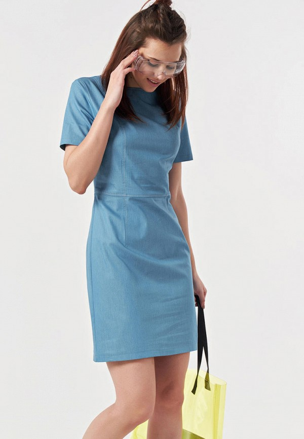 Платье джинсовое Fly Fly MP002XW0E4O0 цены онлайн