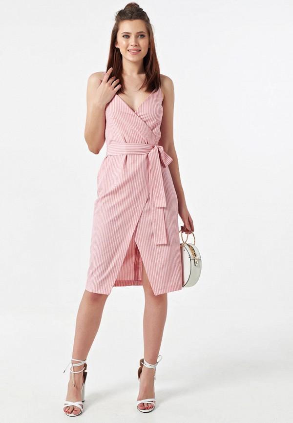 Фото 2 - Женское платье Fly розового цвета