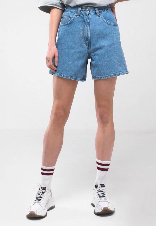 женские джинсовые шорты minnim, голубые