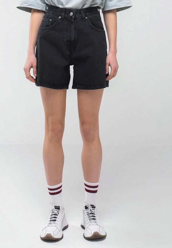женские джинсовые шорты minnim, серые