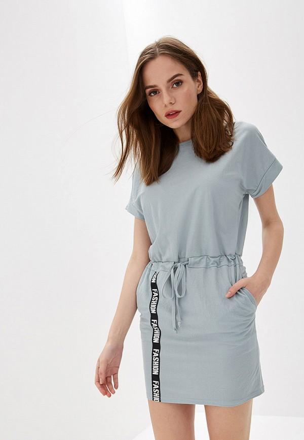Платье Avemod цвет серый