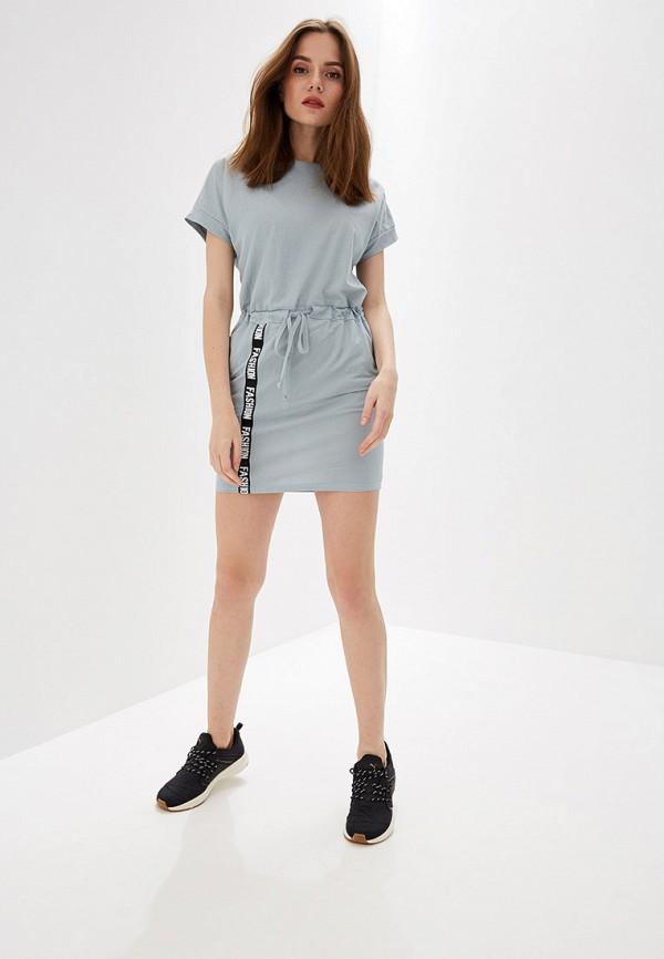Платье Avemod цвет серый  Фото 2