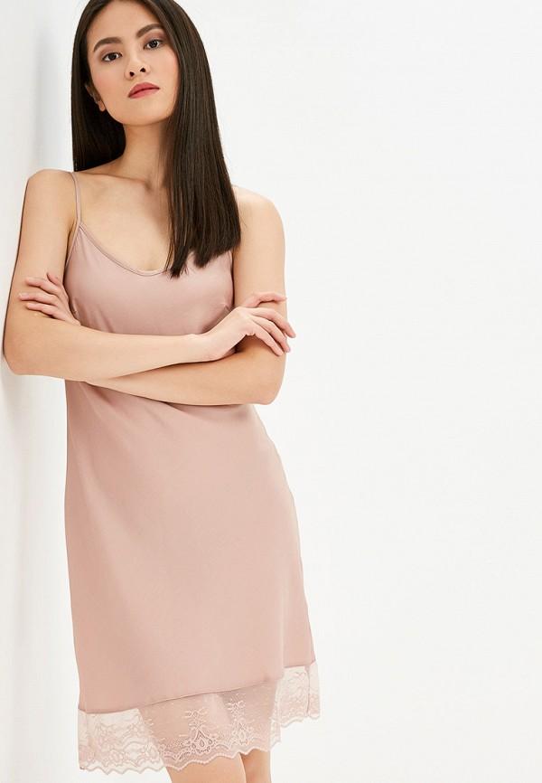 Купить Сорочку ночная Deseo розового цвета