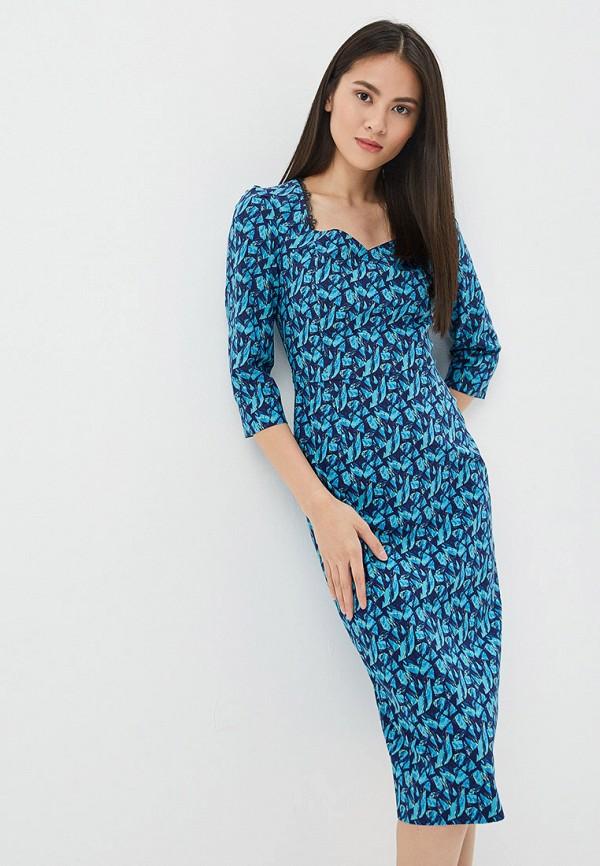 Платье Ruxara цвет синий  Фото 2