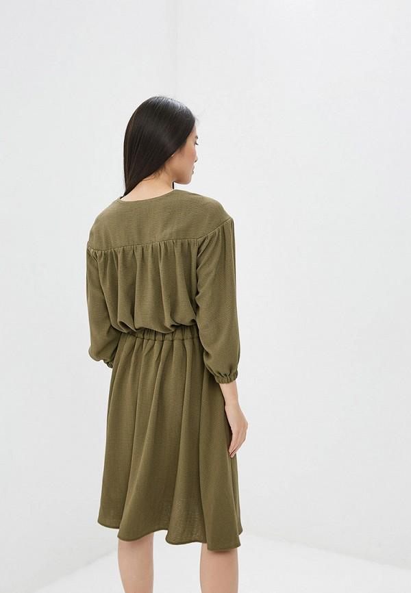 Платье Ruxara цвет хаки  Фото 3